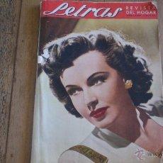 Coleccionismo de Revistas y Periódicos: LETRAS -REVISTA DEL HOGAR- ABRIL 1947. Lote 43461806