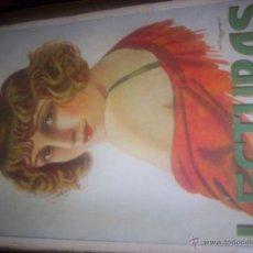 Coleccionismo de Revistas y Periódicos: LECTURAS - DICIEMBRE 1924 - Nº43 - SUPLEMENTO LITERARIO DE EL HOGAR Y LA MODA. Lote 43462901