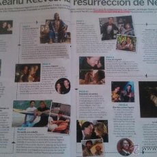 Coleccionismo de Revistas y Periódicos: RECORTES KEANU REEVES. Lote 43465967