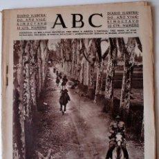 Coleccionismo de Revistas y Periódicos: ABC DIARIO ILUSTRADO. 5 ABRIL 1932.RALLY PAPER MONTCADA.VUELO SIN MOTOR.CORDOBA.BOMBA BARCELONA. Lote 43483873