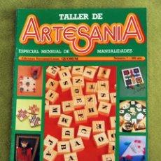 Coleccionismo de Revistas y Periódicos: TALLER DE ARTESANIA - JUEGOS Y JUGUETES. Lote 43523477