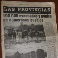 Collezionismo di Riviste e Giornali: LAS PROVINCIAS (PANTANADA DE TOUS). Lote 43536170