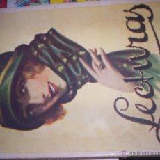 Coleccionismo de Revistas y Periódicos: LECTURAS - NOVIEMBRE 1924 - Nº 42 - SUPLEMENTO LITERARIO DE EL HOGAR Y LA MODA. Lote 43542595