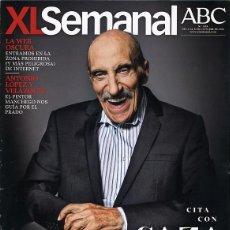 Coleccionismo de Revistas y Periódicos: REVISTA XL SEMANAL. SAZATORNIL SAZA, ANTONIO LÓPEZ Y VELÁZQUEZ, INGRID BERGMAN. 2013. Lote 43615042