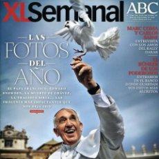 Coleccionismo de Revistas y Periódicos: REVISTA XL SEMANAL. PAPA FRANCISCO, MARC COMA Y CARLOS SAINZ. Lote 43615071