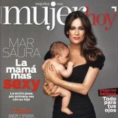 Coleccionismo de Revistas y Periódicos: REVISTA MUJER HOY. MAR SAURA, SHARON STONE. 2014. Lote 43615207