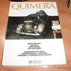 Coleccionismo de Revistas y Periódicos: QUIMERA. REVISTA DE LITERATURA. Lote 43704690