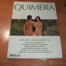 Coleccionismo de Revistas y Periódicos: QUIMERA. REVISTA DE LITERATURA. Lote 43704711