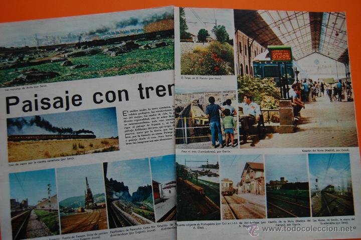 RENFE FERROCARRIL - ARTICULO REVISTA 01/1968 - MUCHAS FOTOS ESTACIONES 4 PAG. VER INTER. REUS, CAMPR (Coleccionismo - Revistas y Periódicos Modernos (a partir de 1.940) - Otros)