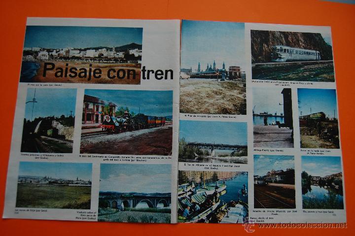 Coleccionismo de Revistas y Periódicos: RENFE FERROCARRIL - ARTICULO REVISTA 01/1968 - MUCHAS FOTOS ESTACIONES 4 PAG. VER INTER. REUS, CAMPR - Foto 2 - 43721906
