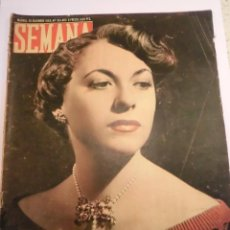 Coleccionismo de Revistas y Periódicos: REVISTA SEMANA - NUM 513 AÑO X - DICIEMBRE 1949. Lote 43735457