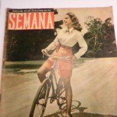Coleccionismo de Revistas y Periódicos: REVISTA SEMANA - NUM 425 AÑO IX - ABRIL 1948. Lote 43735781