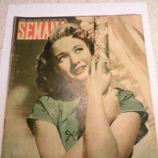 Coleccionismo de Revistas y Periódicos: REVISTA SEMANA - NUM 429 AÑO IX - MAYO 1948. Lote 43735838
