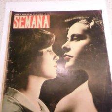 Coleccionismo de Revistas y Periódicos: REVISTA SEMANA - NUM 523 AÑO XI - FEBRERO 1950. Lote 43736298