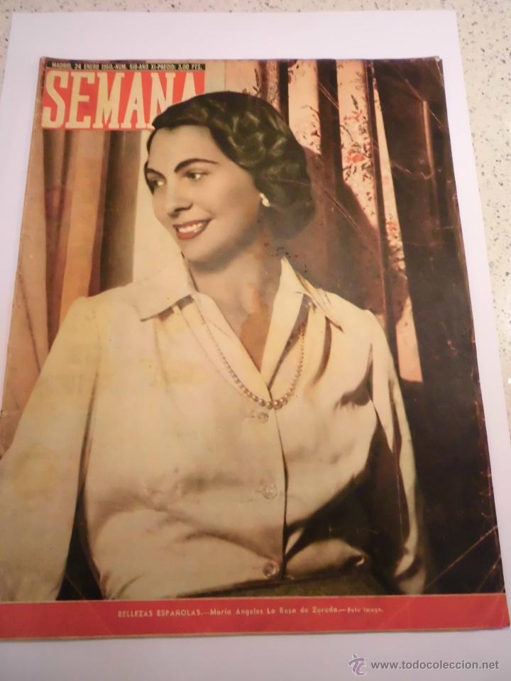 REVISTA SEMANA - NUM 518 AÑO XI - ENERO 1950 (Coleccionismo - Revistas y Periódicos Modernos (a partir de 1.940) - Otros)