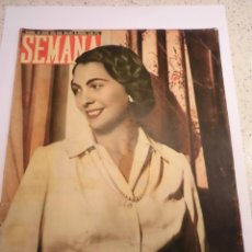 Coleccionismo de Revistas y Periódicos: REVISTA SEMANA - NUM 518 AÑO XI - ENERO 1950. Lote 43736949