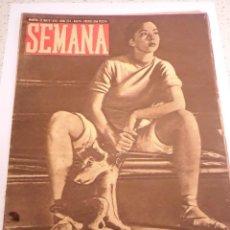 Coleccionismo de Revistas y Periódicos: REVISTA SEMANA - NUM 274 AÑO VI - MAYO 1945. Lote 43737123