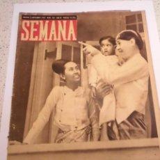 Coleccionismo de Revistas y Periódicos: REVISTA SEMANA - NUM 194 AÑO IV - NOVIEMBRE 1943. Lote 43737147