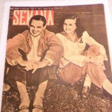 Coleccionismo de Revistas y Periódicos: REVISTA SEMANA - NUM 65 AÑO II - MAYO 1941. Lote 43739311