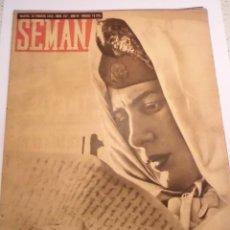 Coleccionismo de Revistas y Periódicos: REVISTA SEMANA - NUM 157 - FEBRERO 1943. Lote 43740002