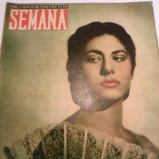 Coleccionismo de Revistas y Periódicos: REVISTA SEMANA - NUM 470- FEBRERO 1949. Lote 43740286