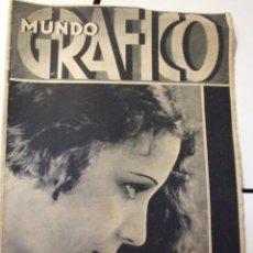 Coleccionismo de Revistas y Periódicos: REVISTA MUNDO GRAFICO - Nº 1049 - DICIEMBRE 1931 - ROSITA MORENO , FOX-PARAMOUNT. Lote 43759598