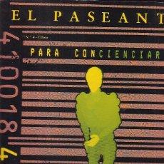 Coleccionismo de Revistas y Periódicos: REVISTA EL PASEANTE Nº 4. Lote 43789545