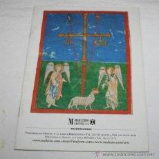 Coleccionismo de Revistas y Periódicos: CATALOGO DE CODICES INCUNABLES Y OTROS LEGAJOS FACSIMILES - MOLEIRO EDITOR S.A. Lote 43801036