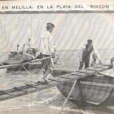 Coleccionismo de Revistas y Periódicos: AÑO 1913 BARAJAS NAIPES LOS DOS TIGRES HOTEL DE ESPAÑA CADIZ HOTEL DE FRANCIA MELILLA PLAYA RINCON. Lote 43904571