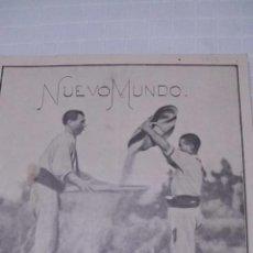 Coleccionismo de Revistas y Periódicos: REVISTA NUEVO MUNDO - AÑO XII - NÚMERO 603 - 27 JULIO 1905. Lote 43911532