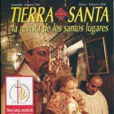 Coleccionismo de Revistas y Periódicos: REVISTA RELIGIOSA, TIERRA SANTA 2008 - BEATIFICACION MARTIRES ESPAÑOLES. Lote 43933423