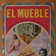 Coleccionismo de Revistas y Periódicos: REVISTA EL MUEBLE 1968. Lote 124037692