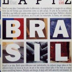 Coleccionismo de Revistas y Periódicos - LAPIZ. 134-135. Revista internacional de arte (numero doble). BRASIL - 43943551