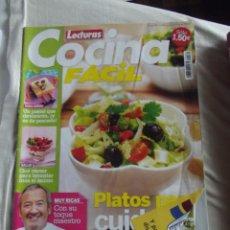 Coleccionismo de Revistas y Periódicos: REVISTA LECTURAS COCINA FACIL PLATOS PARA CUIDARTE Nº 160. Lote 104606560