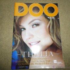 Coleccionismo de Revistas y Periódicos: THALIA REVISTA DOO DOBLECERO Nº 37 MARZO 2004 FOTOS Y ENTREVISTA ESPECIAL COLECCIONISTAS. Lote 194264537
