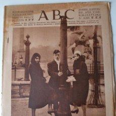 Coleccionismo de Revistas y Periódicos: DIARIO ABC 12 MARZO 1931. PARIS. VALENCIA. TEATRO PIRINEOS. TEATRO ZARZUELA. CARRERAS CERDITOS. Lote 44041346