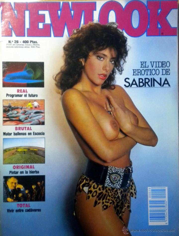Revista Magazine Newlook Sabrina Salerno Desnud Verkauft Durch