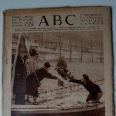 Coleccionismo de Revistas y Periódicos: DIARIO ABC 9 MARZO 1931. PARIS. CORDOBA. ATRACO JOYERO BARCELONA. , FIESTA CORUÑA, ARROZ.... Lote 44065589
