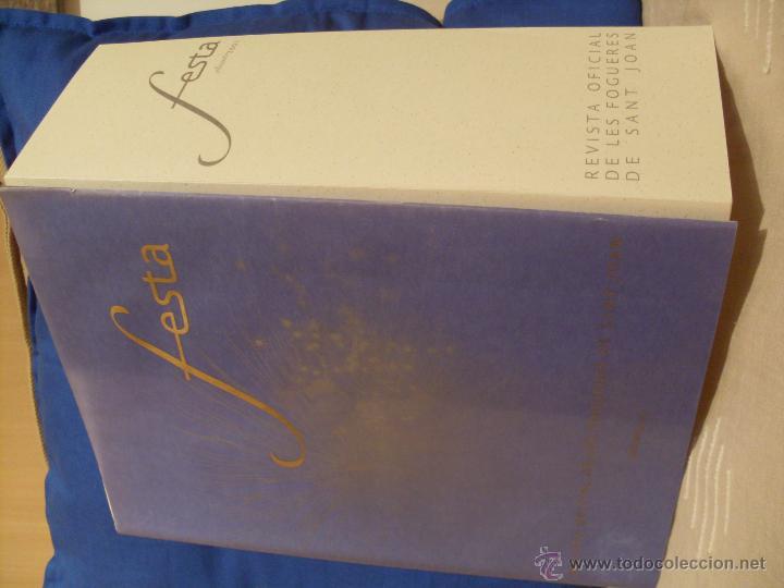 Coleccionismo de Revistas y Periódicos: Festa. Revista Oficial de les Fogueres de Sant Joan. Alicante 2001. - Foto 11 - 44078525