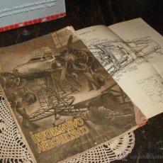 Coleccionismo de Revistas y Periódicos: ANTIGUAS 25 REVISTAS DE AVIACIÓN TÉCNICA 1944/47 CON FOTOS - PLANOS Y MUCHO MATERIAL HISTORICO. Lote 44095589