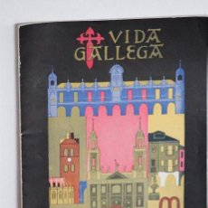 Coleccionismo de Revistas y Periódicos: RRR EJEMPLAR DE VIDA GALLEGA - NUMERO 674 EPOCA II - OCTUBRE 1955 - 31X21. Lote 44097478