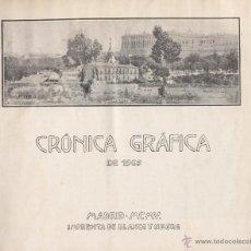 Coleccionismo de Revistas y Periódicos: BLANCO Y NEGRO . CRÓNICA GRÁFICA. 1905. Lote 44137353