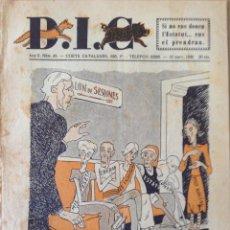 Coleccionismo de Revistas y Periódicos: REVISTA D.I.C. AÑO II, NUM. 38, 12 DE MARZO DE 1932, II REPUBLICA, IMP. ALTES BARCELONA. Lote 44158090