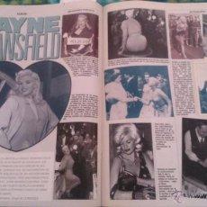 Coleccionismo de Revistas y Periódicos: RECORTES JAYNE MANSFIELD. Lote 44185180