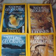 Coleccionismo de Revistas y Periódicos: 14 NUMEROS DE LA REVISTA NATIONAL GEOGRAPHIC. MAYO 2001 A MAYO 2002. Lote 44300458