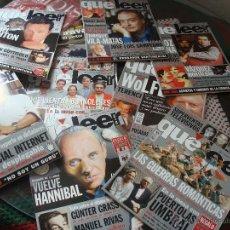 Coleccionismo de Revistas y Periódicos: LOTE DE 19 EJEMPLARES DE LA REVISTA LITERARIA QUÉ LEER. NUMEROS 36 (1999) AL 53, MÁS EL 57. Lote 44300625