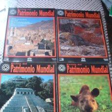Coleccionismo de Revistas y Periódicos: LOTE 8 PRIMEROS EJEMPLARES REVISTA PATRIMONIO MUNDIAL. NUMEROS 1 AL 8. UNESCO. Lote 44306275