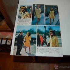 Coleccionismo de Revistas y Periódicos: JACKIE KENNEDY-ONASSIS. REPORTAJE GRÁFICO. HACIA 1970. Lote 44330097