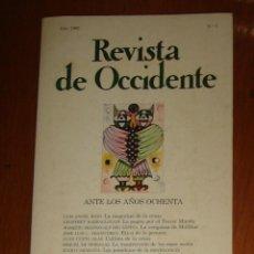 Coleccionismo de Revistas y Periódicos: REVISTA DE OCCIDENTE N° 1. ANTE LOS AÑOS 80.. Lote 44344247