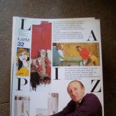 Coleccionismo de Revistas y Periódicos: LAPIZ NÚMERO 32. Lote 44383590
